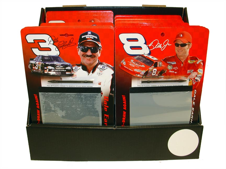 Jumpstart LLc Dale Earnhardt #3 Throwback Draw/Erase Fun Board NASCAR - NASCAR Dale Earnhardt #3 Throwback Draw/Erase Fun Board. Brings you back before electronics with this NASCAR Dale Earnhardt #3 Throwback Draw/Erase Fun Board.