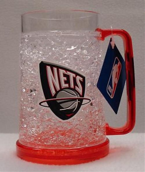 N/A New Jersey Nets Crystal Freezer Mug - New Jersey Nets Crystal Freezer Mug